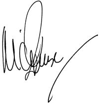 Michel Roux's Signature