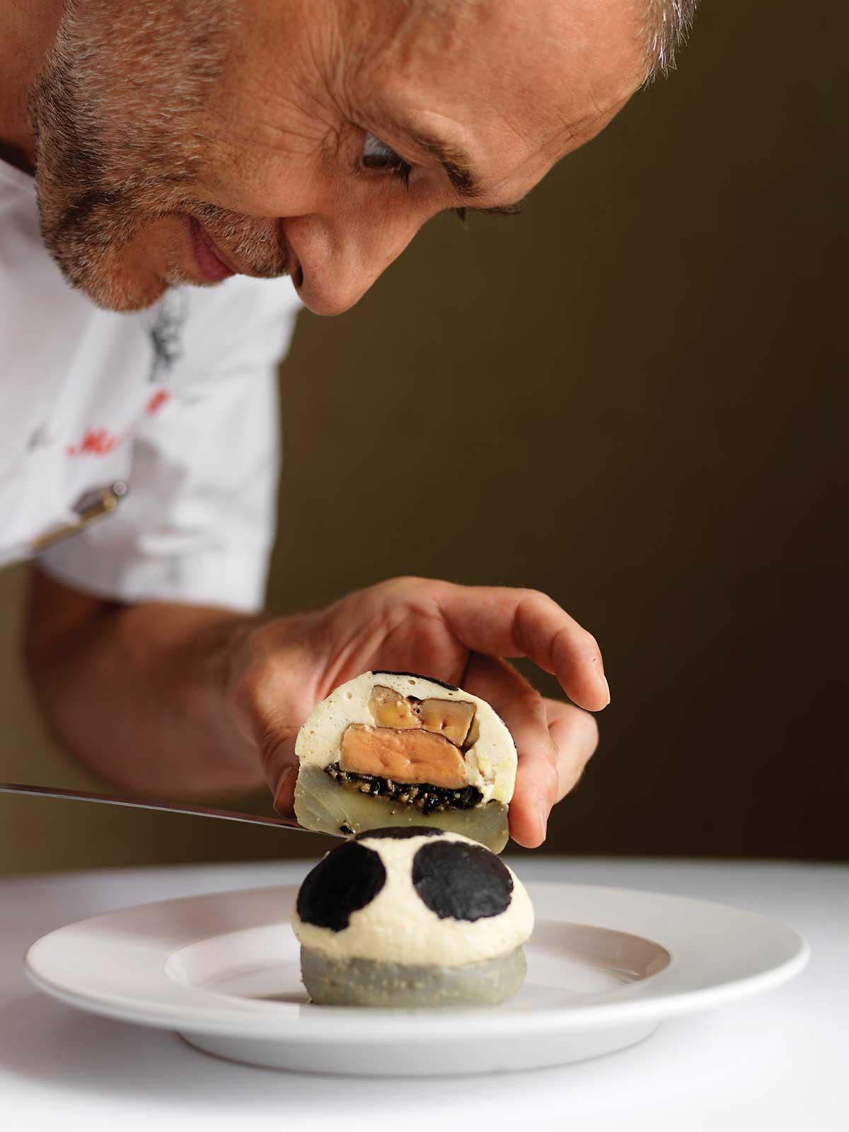 Michel Roux's fine cuisine